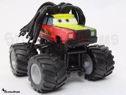 disney pixar cars toon monster truck rasta carian toy car mattel