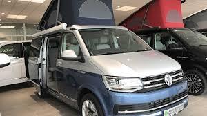 volkswagen minibus interior vw t6 bulli california ocean blue camper silver blue colour