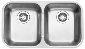 Sinksrus by 100 Double Bowl Undermount Stainless Steel Kitchen Sink