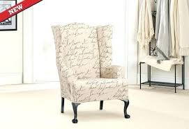 white wing chair slipcover white wingback chair covers small wing chair slipcover size of