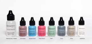 airbrush makeup colors glambox airbrush cosmetics