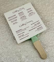 wedding program fan template wedding program fan wedding program paddle fan template matelasse