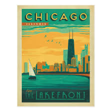 photo postcard chicago postcards chicago post cards chicago postcard designs