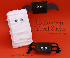 diy halloween treat bags inspired by family