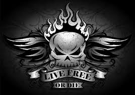 live free or die stock vector illustration of graphic 45348615