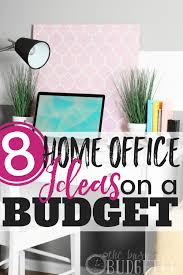 home office ideas on a budget 8 easy office upgrades busy budgeter