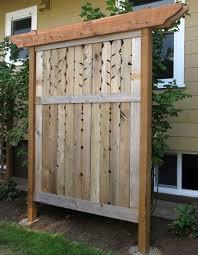 Backyard Privacy Screens Trellis Best 25 Trellis Fence Panels Ideas On Pinterest Trellis Fence