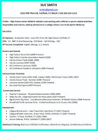 A Resume Format For A Job by The Perfect College Resume Template To Get A Job