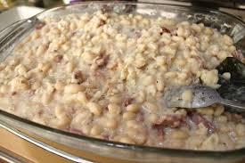 cuisiner haricots blancs secs recette haricots blancs à la carbonara magazine omnicuiseur