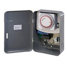 westek 40 amp 125 volt single pole single throw mechanical timer