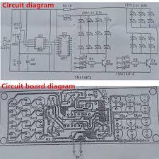 Led Blinking Circuit Diagram Diy Two Color Led Flashing Light Electronic Kit Circuit Board Sale