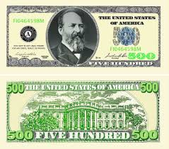 fakemillion five hundred dollar bill casino and