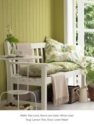 painted sun room in little greene paint colours u0027pale lime