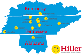 Knoxville Tennessee Map by Hiller Careers
