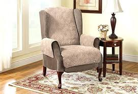 chair slipcovers canada recliner wingback chair st recliner wing chair slipcovers canada