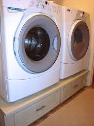 Build Washer Dryer Pedestal Best 25 Laundry Pedestal Ideas On Pinterest Laundry Room