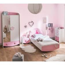 chambre enfant blanc chambre enfant féérie et blanc perle cb125 90x190 achat