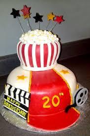popcorn parties party cakes popcorn cake popcorn theme