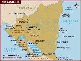 grenada location on world map map of nicaragua