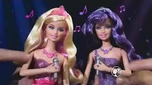 video barbie princess u0026 popstar 2 1 dolls