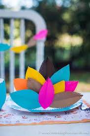 thanksgiving table craft ideas celebrating everyday