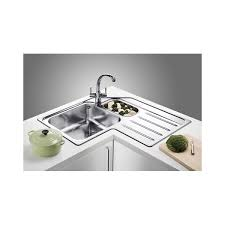 Kitchen Sink Uk Blanco Median 9 E Stainless Steel 500x830x830x500mm Left Only