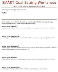 goal setting worksheet template 40 smart goals templates ready to use excel pdf word