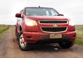 holden car truck 2012 holden colorado lx manual 4x4 on road review