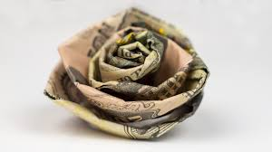 Money Wedding Gift Money Gift Wedding Rose Cash Crafting Tutorial Youtube