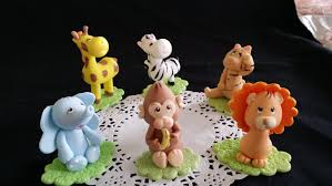 safari animals cake topper baby animal baby shower jungle animal