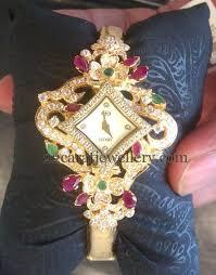 bracelet design watches images Floral design watch cum bracelet floral designs bracelets and jpg