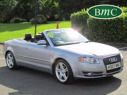 audi convertible 2008 used audi a4 convertible for sale motors co uk