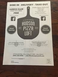 Pizza Cottage Coupons by Photos For Hudson Pizza Loft Yelp