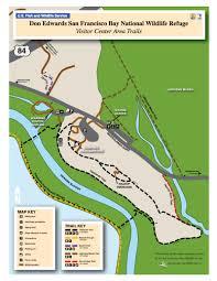 San Francisco Pier Map by Don Edwards San Francisco Bay National Wildlife Refuge Part 2