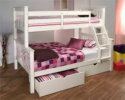 Pavo Bunk Bed Limelight Pavo White Three Sleeper Bunk Bed Bedstar Co Uk