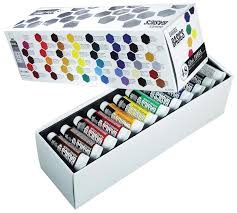 amazon com liquitex basics acrylic paint tube 48 piece set arts