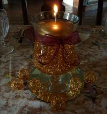 centerpieces with candles creative hospitality how to make a floating candle centerpiece