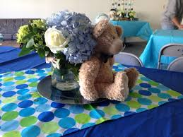 Baby Shower Centerpieces For Boy by Centerpieces Teddy Bears And Bow Tie Baby Shower Theme Party