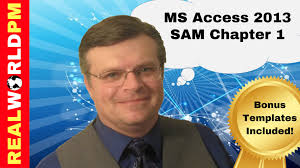 MS Access Chapter          SAM Cengage Project YouTube