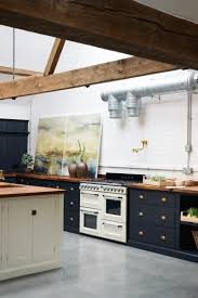 blue kitchen cabinets with copper hardware how to style blue kitchen cabinets in 2020 on roomhints