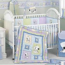 Snoopy Crib Bedding Snoopy Family 6 Crib Set