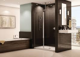 shower awesome modern tub shower combo corner bathtub ideas