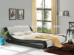 enzo italian modern designer leather bed buy italian faux