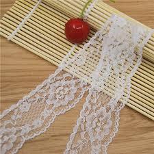 cheap ribbon for sale factory sale 40mm white lace fabric trim gorgeous cheap lace