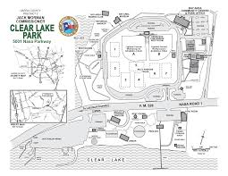 First Landing State Park Map by Harris County Commissioner Precinct 2 Parks Clear Lake Park
