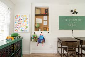 modern vintage schoolhouse playroom reveal the inspired hive
