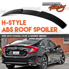 honda civic 2016 fits 2016 up honda civic 4dr rear window roof visor sun guard