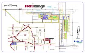 Denver Colorado Airport Map by Front Range Airport Airport Maps