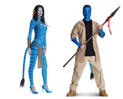 his and hers costumes his and hers avatar costume costume party avatar