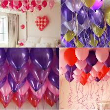 balloon ribbon hot 6pcs lot foil balloon ribbon rope 5mm 10m party